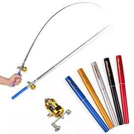 HS Pen pancing Mini Fishing Rod Pena / Pen Fishing Rod