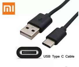 Kabel Charger Xiaomi Type C Fast Charging