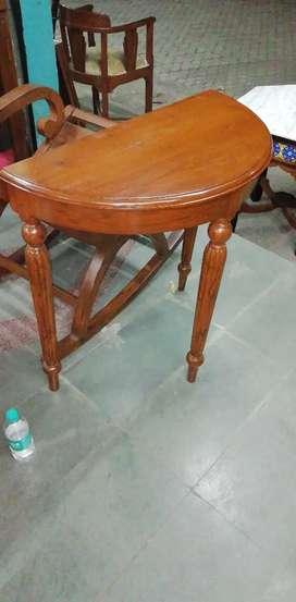 D table teakwood