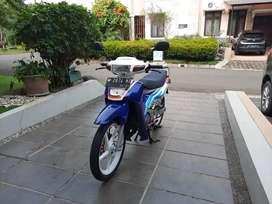 Suzuki Satria RU 120 2 Tak Lumba-lumba antik 2001 Original istimewa