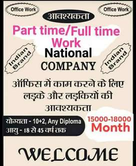 urgent requirements in office of company