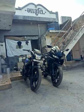 R15 V3 ABS dark night colour top modal showroom Condition