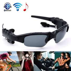 Stereo Bluetooth Sunglasses - Black