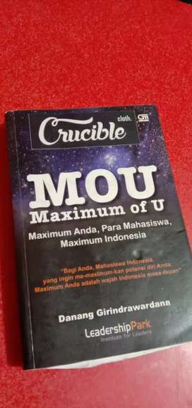 "MOU (Maximum Of U) Top Seller Book (Special from ""MyDreamBook"")"