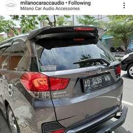 Spoiler, Aksesoris Topi Tambahan Honda Mobilio Ala RS Incl Pasang