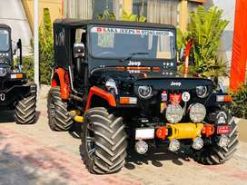 New look modified open willys jeeps