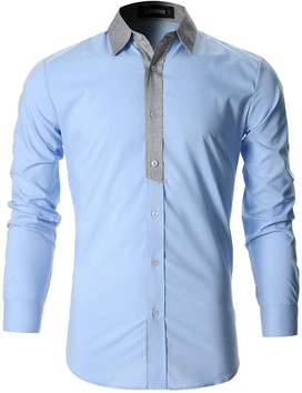 Men's Casual Shirt Stitching