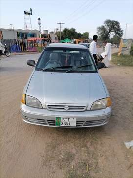Cultus...in good condition sailkot registered. Just buy and drive.