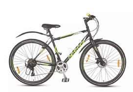Kross Bolt 28 with disc break and 21 gear 700c tire cycle hybrid