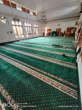 Karpet sejadah masjid import tebal 12mm