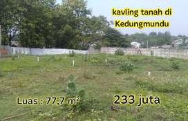 Kavling tanah Strategis di Kedungmundu Tembalang dekat Kampus Unimus