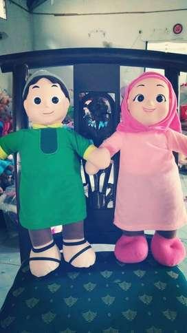 Boneka NUSA dan RARA