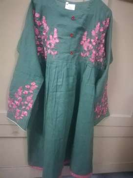 Ladies embroidery frock