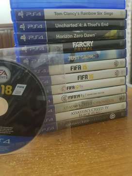 PS4 Games DVDs