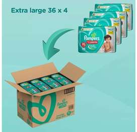 Pampers XL 4*36 pants