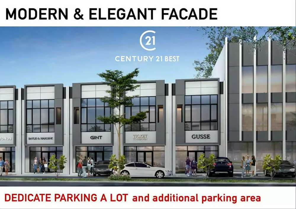 ruko murah home improvement center di tallasa city boulevard