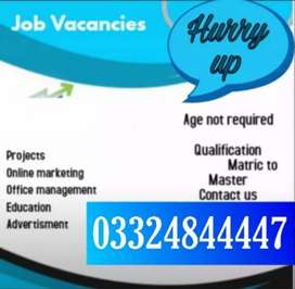Online home base jobs are available for male female