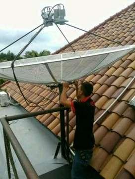 Perbaikan Parabola ll terdekat Sangiang Tangerang