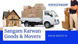 Home shifting/Relocation in Islamabad Pakistan