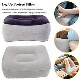 Bantal Angin Kaki Portable - Gray