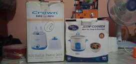 Baby safe slow cooker type LB 006/Crown baby care steaming centre