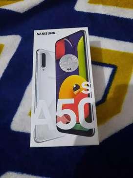 A50s 4/128GB White