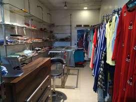 Glass Fittings for garments(kurti) shop
