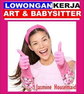 Lowongan Wanita PRT,ART dan BabySitter