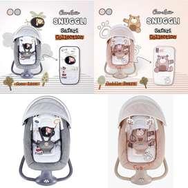 Cocolatte Snuggli Swing Weeler Ayunan Bayi Elektrik Features Otomatis