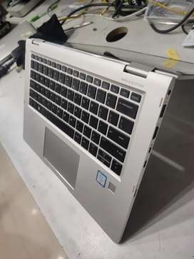 HP ELITE BOOK X360 2IN ONE LAPTOPS CORE I7 8GB RAM 512SSD WIN 10