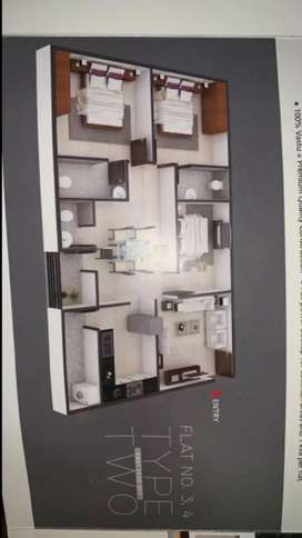 Flat for sale at muthangi
