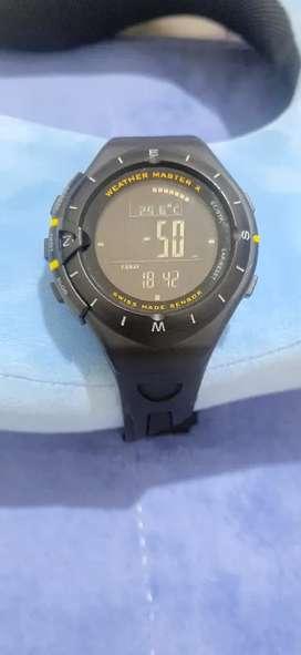 Jam tangan weather master x swiss (ori)