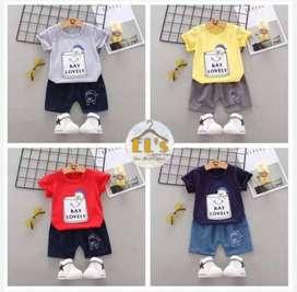 Baju Setelan Anak Cowok (Impor)