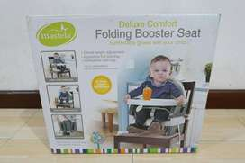 Mastela Folding Booster Seat kursi lipat portabel bayi