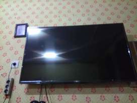 Pemasangan bracket gantung tv led+alat komplit