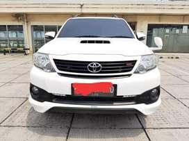 Toyota Fortuner 2.5 G TRD Matic 2015 TDP 66.5jtan Pajak Panjang