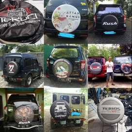 Cover/Sarung Ban Toyota Rush/Terios/Panther/CRV/Feroza MakinNyentrikbi