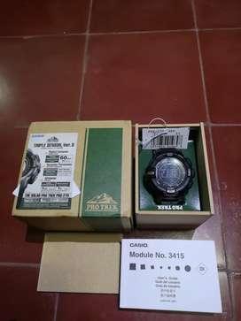 Casio Protrek PRG 270 1ADR Triple Sensor Original Mulus