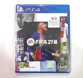 kaset bd ps4 Fifa 21 Baru new segel