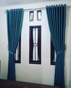 Curtain Korde Vitrase Gordeng Hordeng Gorden Gordyn Blinds 818