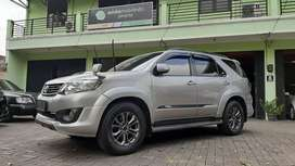 Jual Cash toyota fortuner trd 2015 disel matic ors tgn 1 no pol BE
