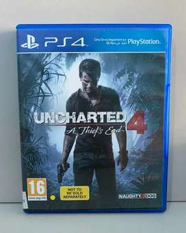 Bd Ps4 Game Uncharted 4 A Thief End