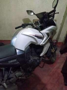 Motor cycle ..Frazer ...white colour