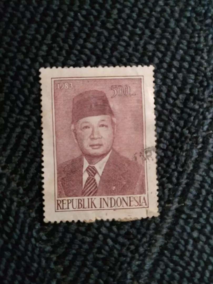 PERANGKO EDISI PRESIDEN SOEHARTO THN 1983 0