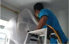 Service AC pasang AC isi freon perbaikan AC kulkas mesin cuci