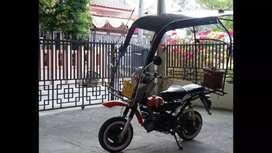 Sepeda motor canopy
