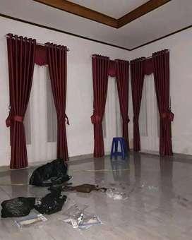 Gorden Gordyn Korden Gordeng Hordeng Vitrase Curtain Minimalis 400