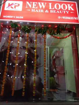 New look beauty parlour and saloon