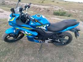 Suzuki GXR 150  heavy bike