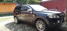 Chevrolet Captiva desel 2009 hitam F Kota Bogor Mulus